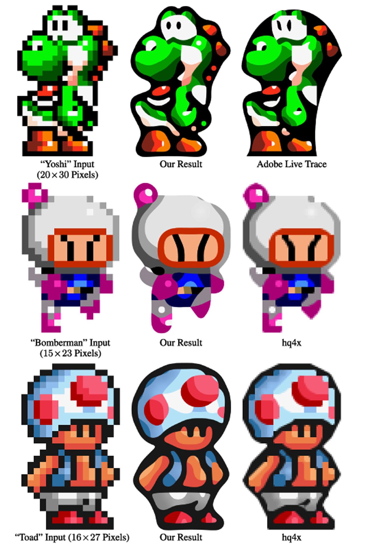 15 Pixel Vector Graphics Images