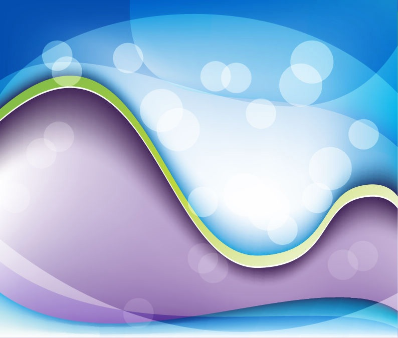 Abstract Waves Vector Graphic