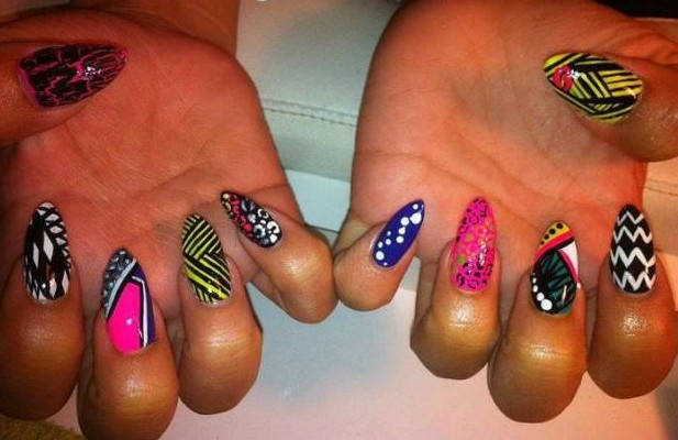 Every Nail Different Design Best Nail Designs 2018