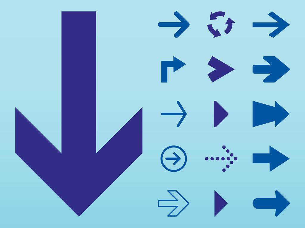 10 Arrow Free Icon Set Images