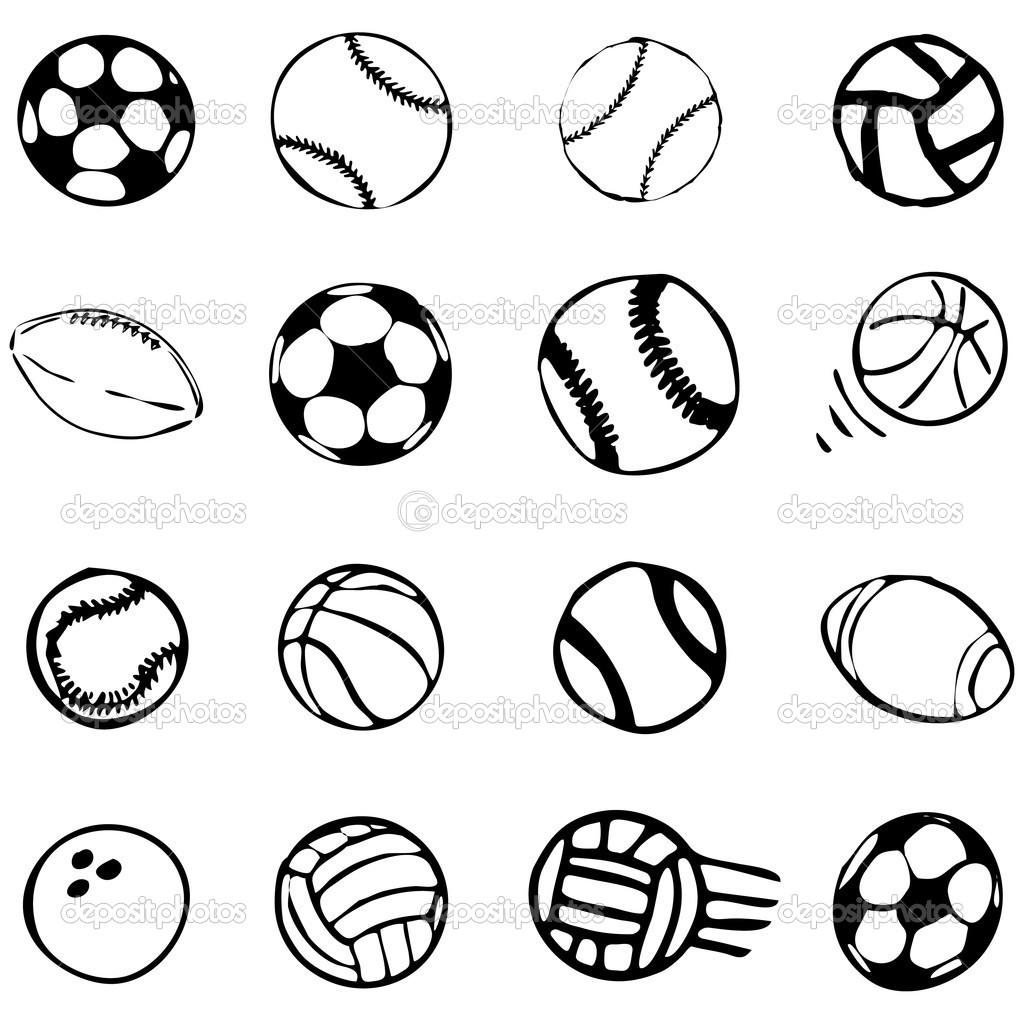 Balls Sports Icon Symbols