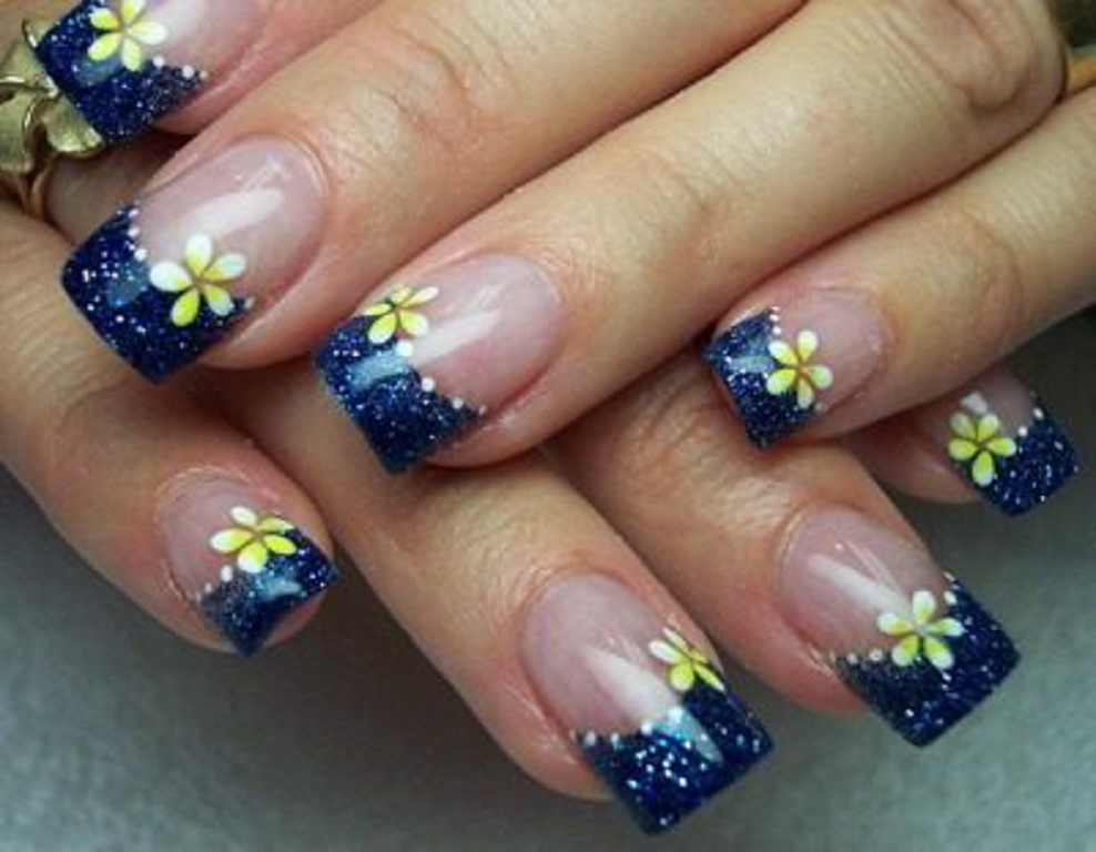 18 Acrylic Nail Designs 2013 Images