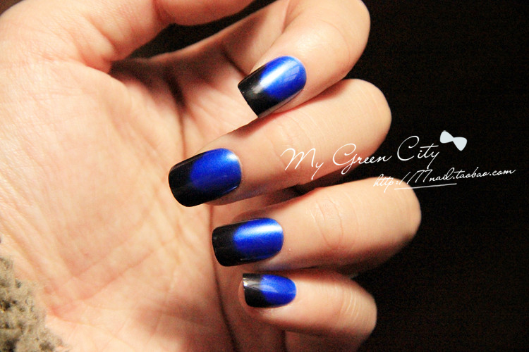 Blue and black nail art designs gallery nail art and nail design blue and black nail art designs best nails art ideas prinsesfo gallery prinsesfo Gallery