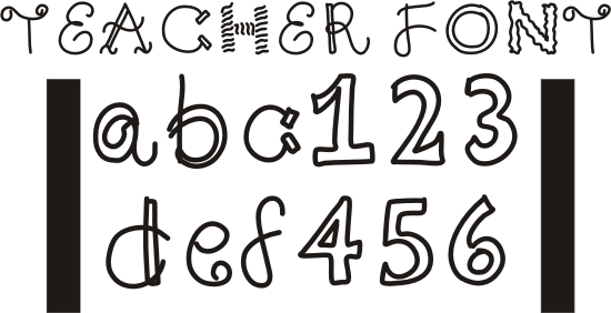 8 Different Number Fonts Images