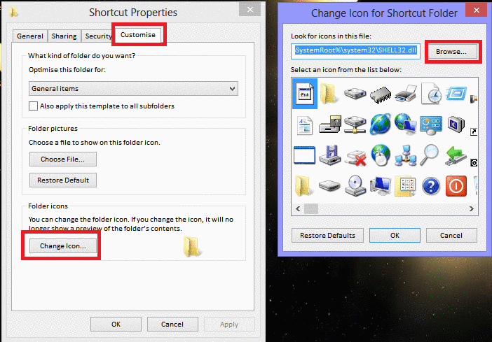 19 Change Icons In Windows 8 Images