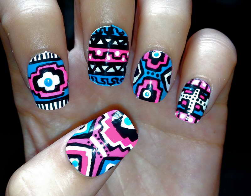 12 Cool Short Nail Designs Images