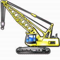 6 Construction Crane Icon Images