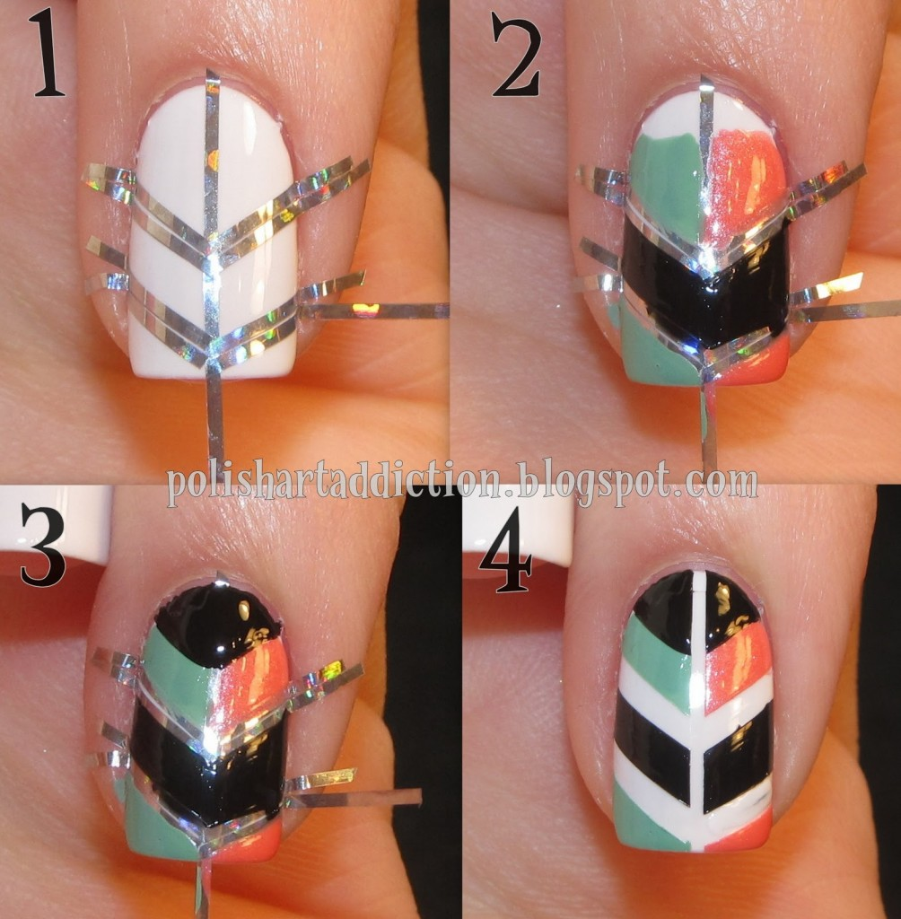 14 Homemade Easy Nail Designs Images