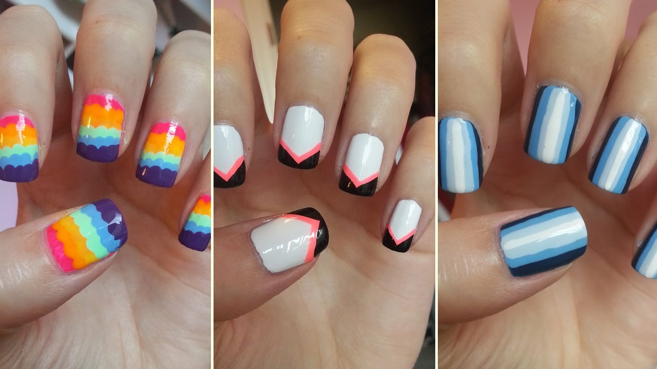 15 Cool Nail Designs For Beginners Images