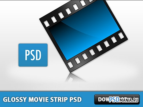 9 Film Strip PSD Images