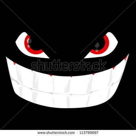 Evil Cartoon Face