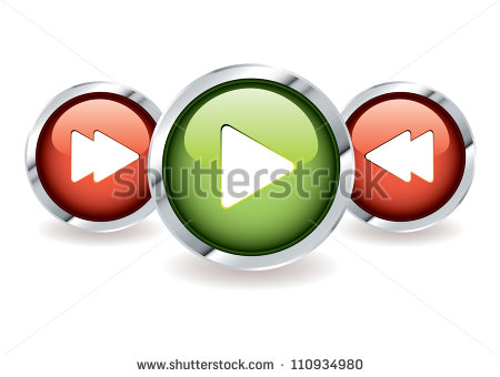 9 Green Play Button PNGICONS High Res Images