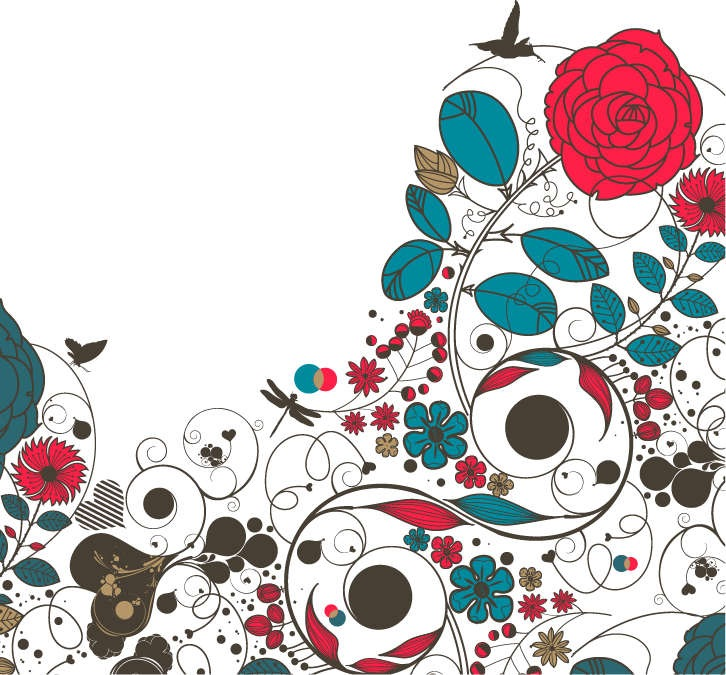 Flower Vector Floral Design