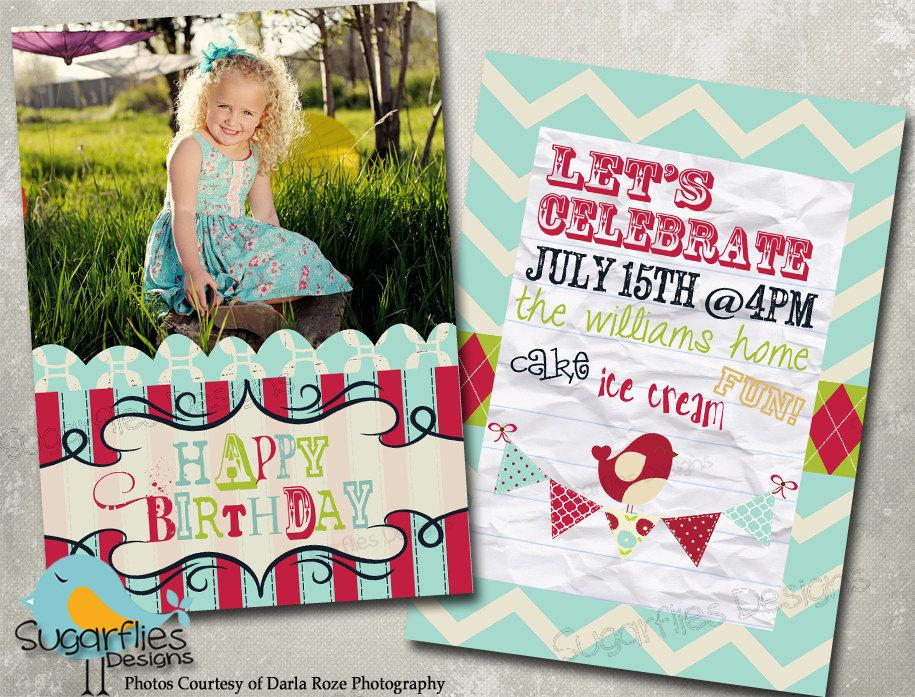 Free Birthday Invitation Templates