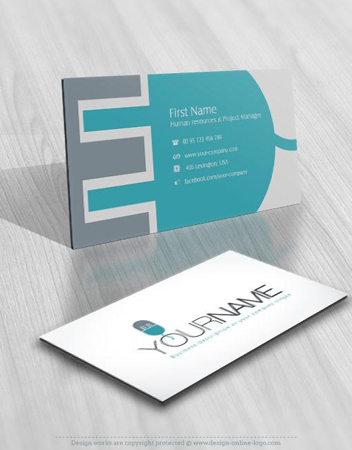 Free Business Card Logo Design