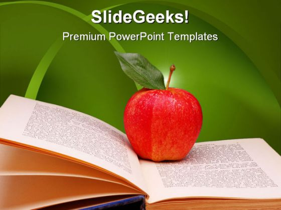 19 apple book template images free printable shape templates free education powerpoint template books toneelgroepblik Images