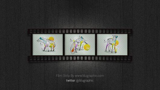 Free Film Strip PSD