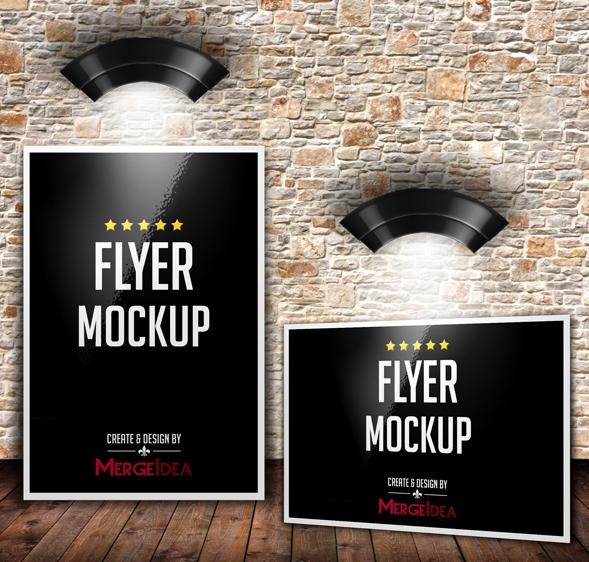 Free Flyer Mockup Template