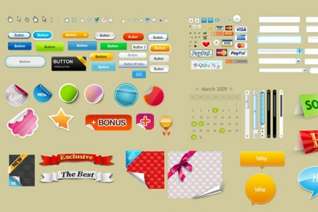 Free Icons Web Design Buttons