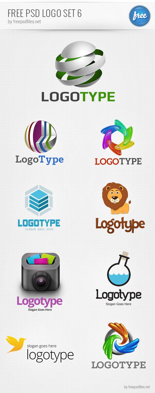 Free Logo Design Templates PSD