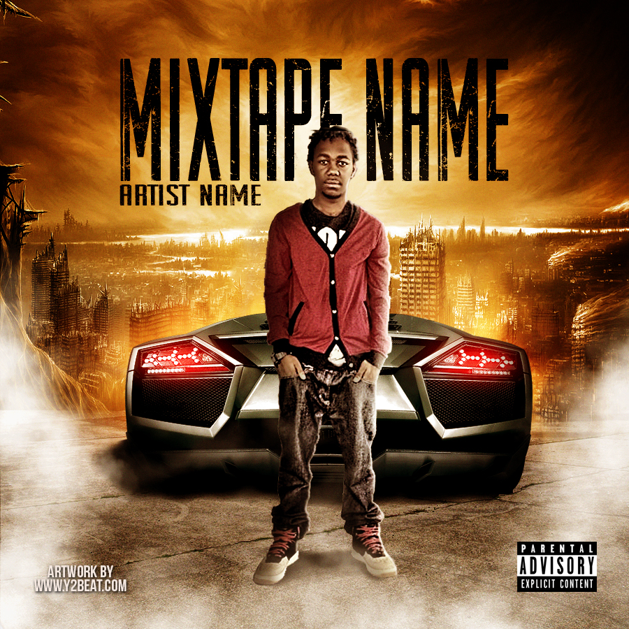 19 psd photoshop mixtape templates images free mixtape for Free mixtape covers templates