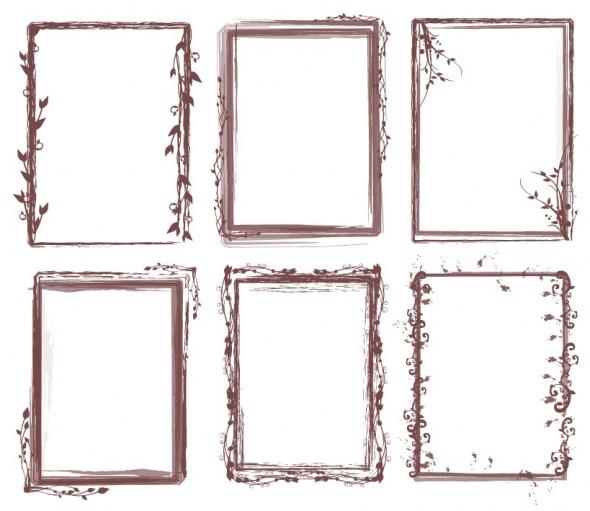 Free Photoshop Brushes Borders Frames