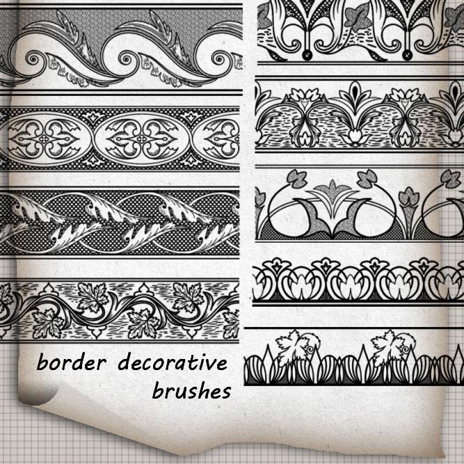 Free Photoshop Brushes Borders