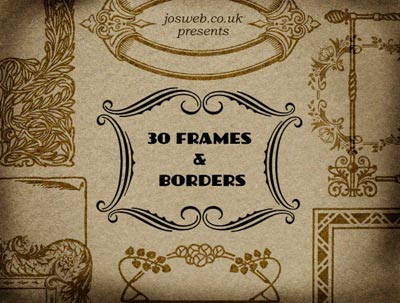 Free Photoshop Brushes Frames and Borders