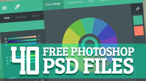 11 Free Photoshop PSD Files Images