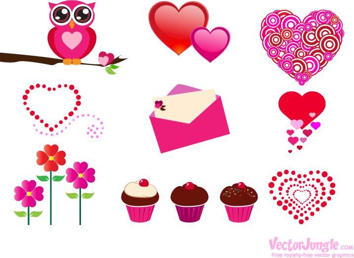 16 Free Valentine Vectors Images