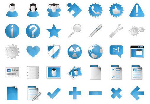 Free Web Application Icons