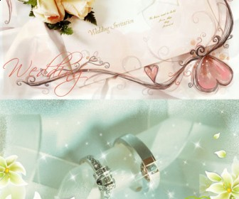 Free Wedding Album PSD Templates