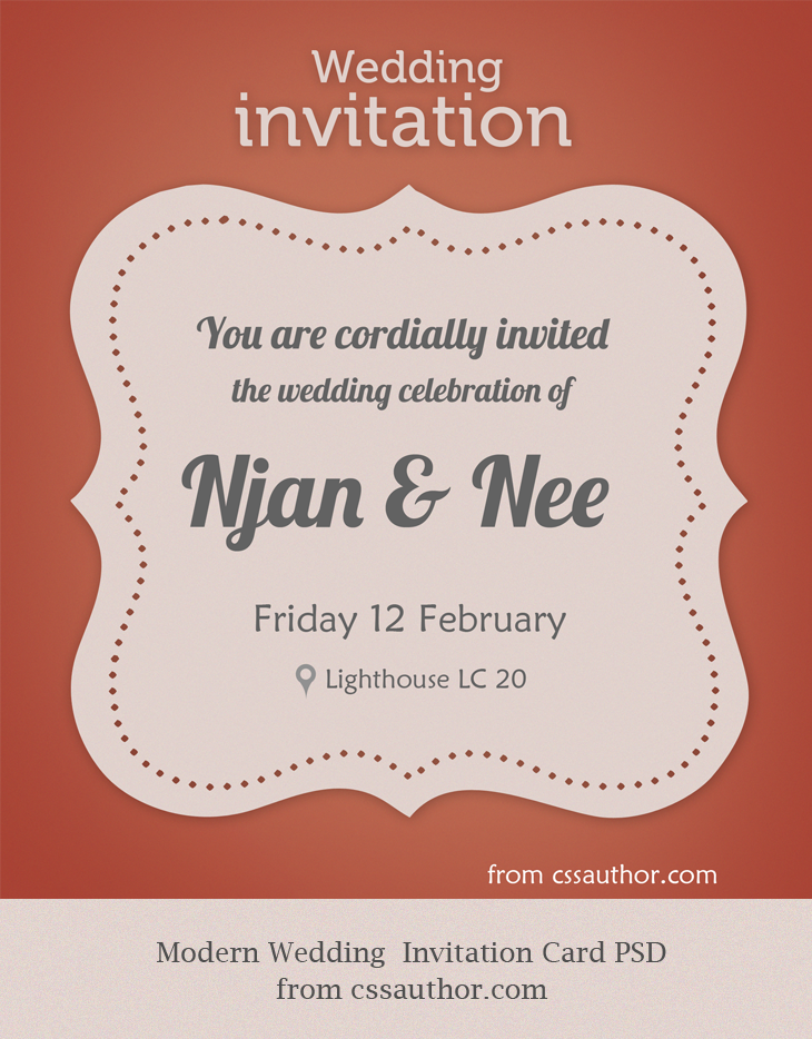 Free Wedding Invitation Cards