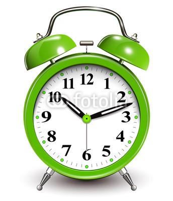 12 Vector Alarm Clock Green Images