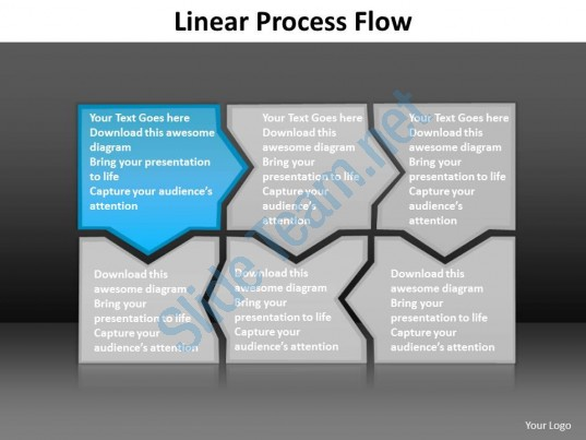 Infographic Process Flow Template