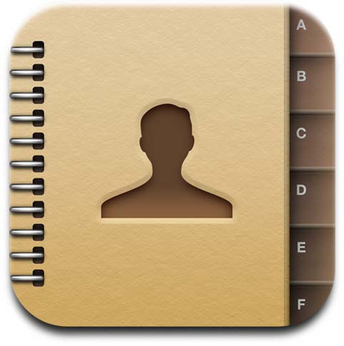 16 Contacts App Icon Images
