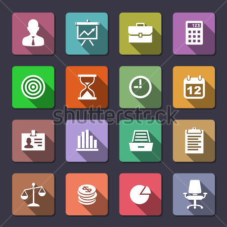 11 Finance Icons Metro Style Images
