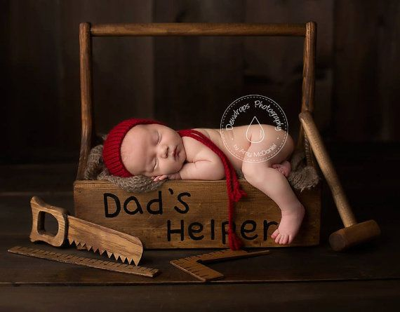 Newborn Baby Photography Props Wooden