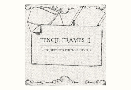 Pencil Borders and Frames