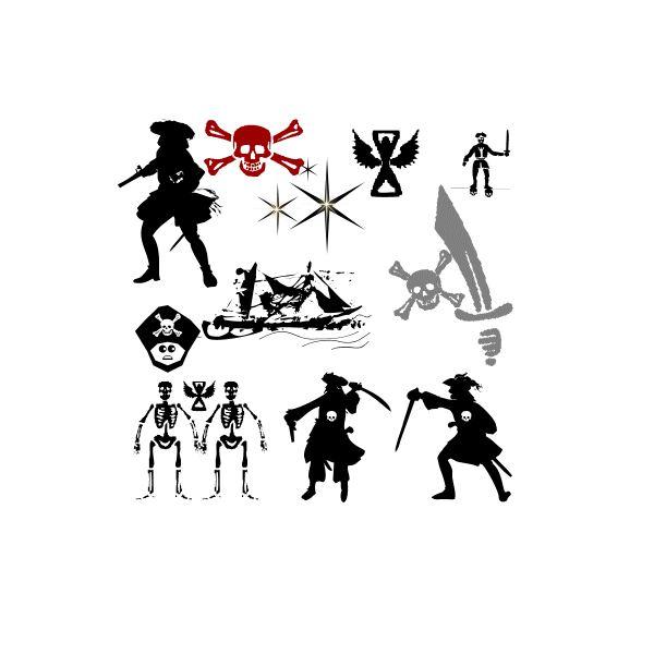 Pirate Dingbat Font Free