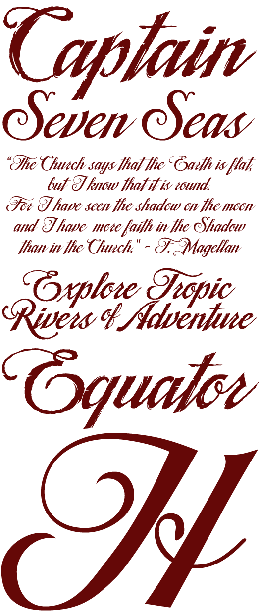 Pirate Writing Font