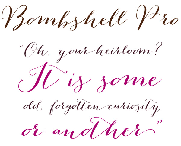 Popular Wedding Invitation Calligraphy Fonts Free
