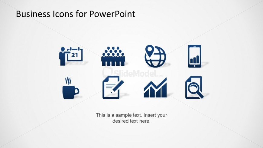 14 Business Icons For PowerPoint Images