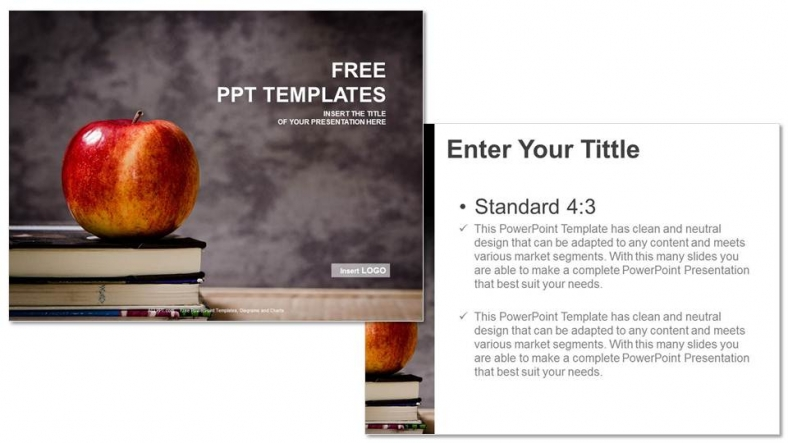 19 apple book template images free printable shape for Cookbook templates for mac