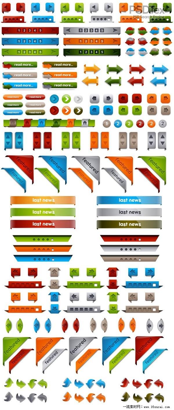 PSD Web Buttons