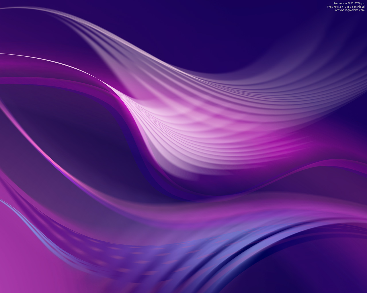 Purple Color Abstract