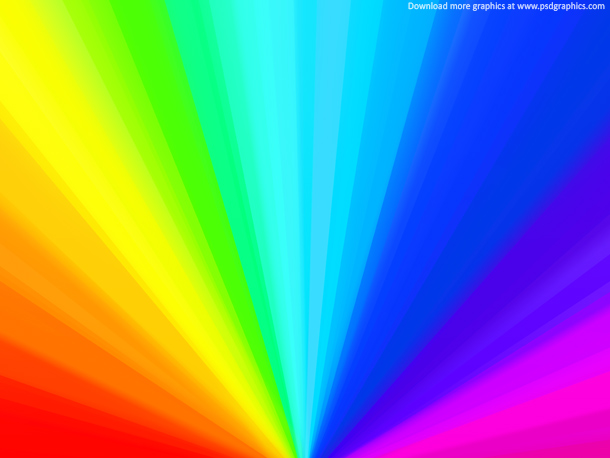8 Rainbow PSD Files Free Images