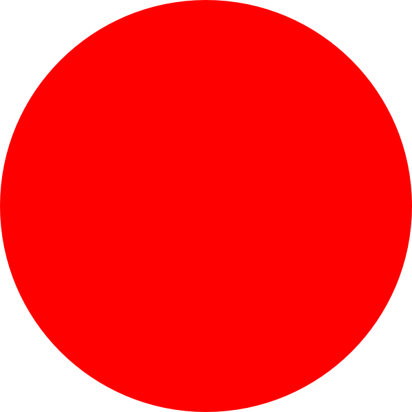 13 Red Dot Icon Images