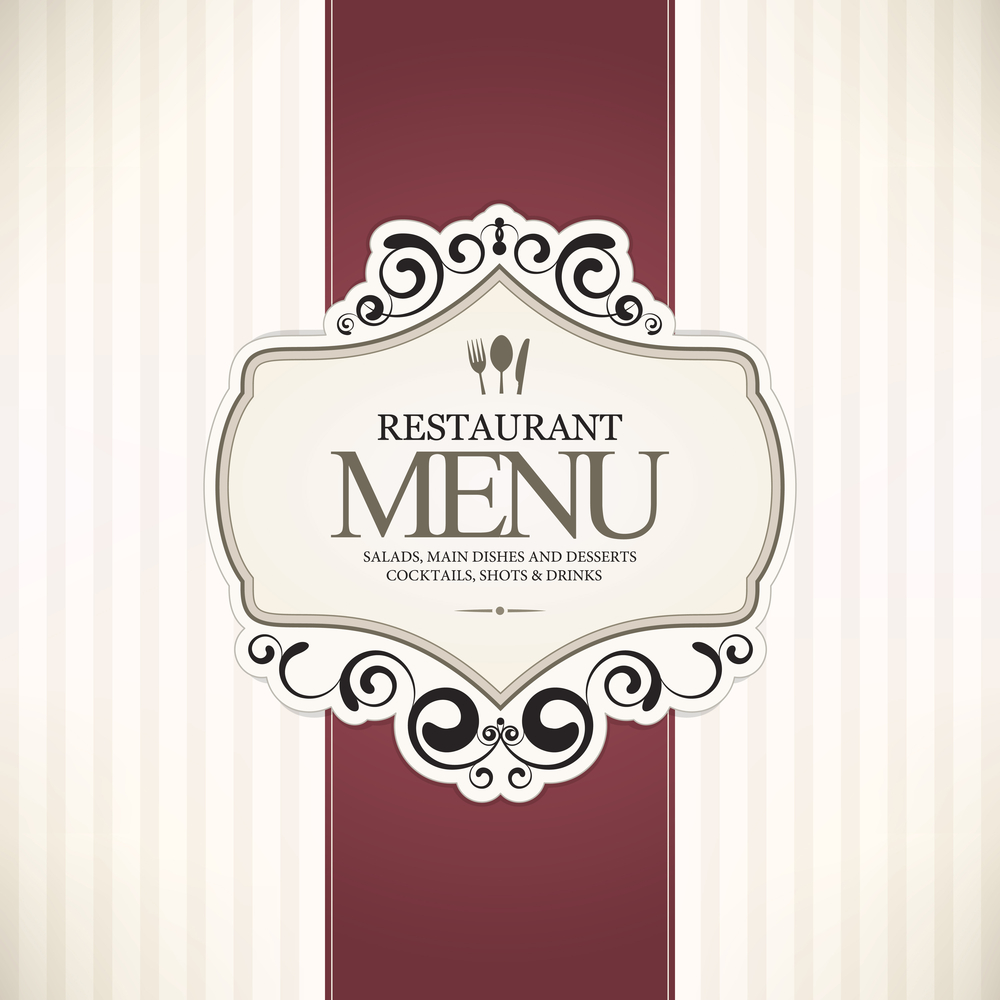 Restaurant menu cover design ideas images