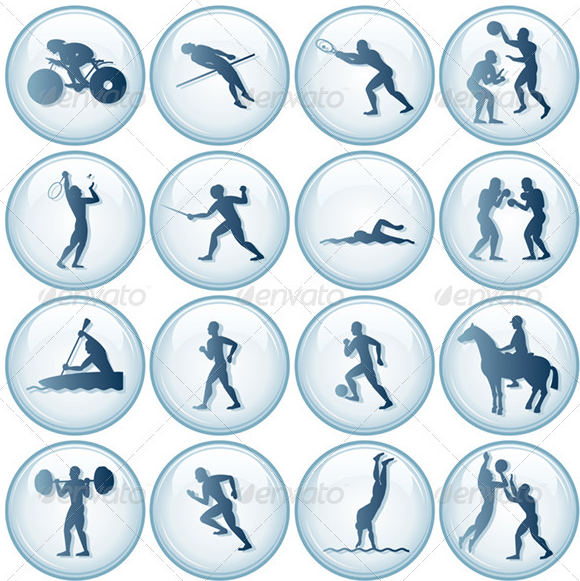 Sports Activities Clip Art